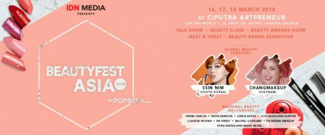 cari tiket event beauty fest asia