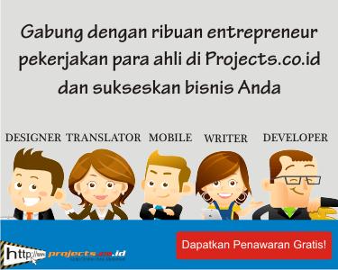 cari project untuk para freelance