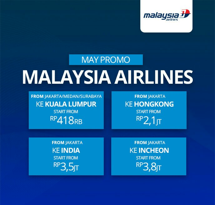 Malaysia Airlines May Promo