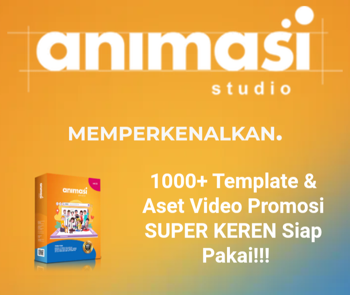 Template video animasi siap pakai